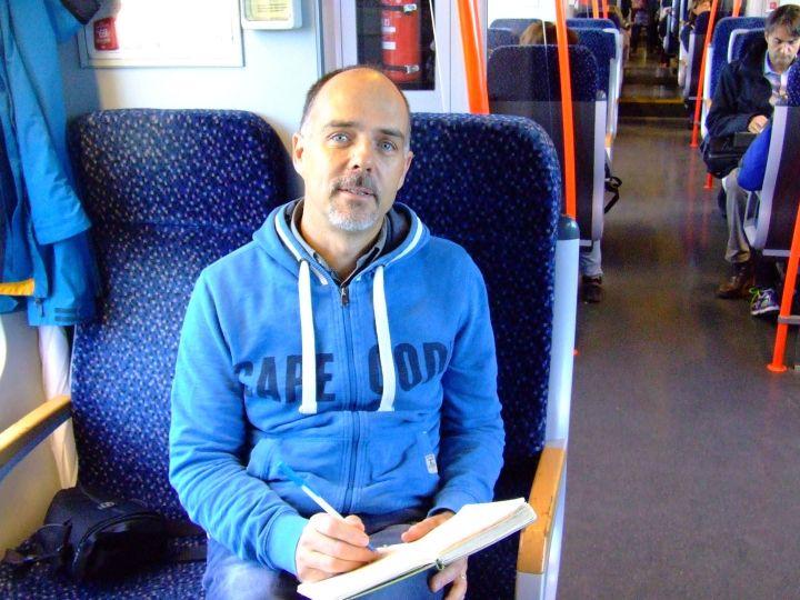 Writing on trains!