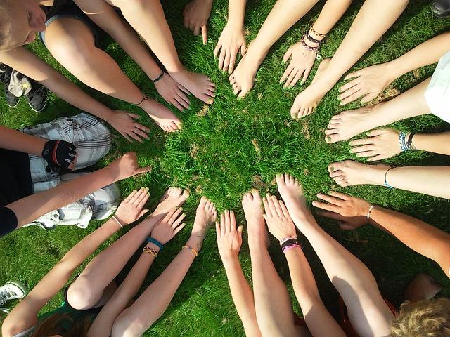 Community Teamwork Together Group Team Motivation
